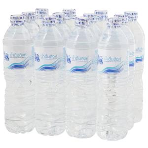 น้ำดื่มสิงห์ 600ซีซี แพ็ค 12 ขวด